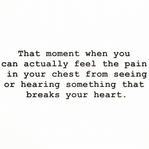 And Then He Broke My Heart